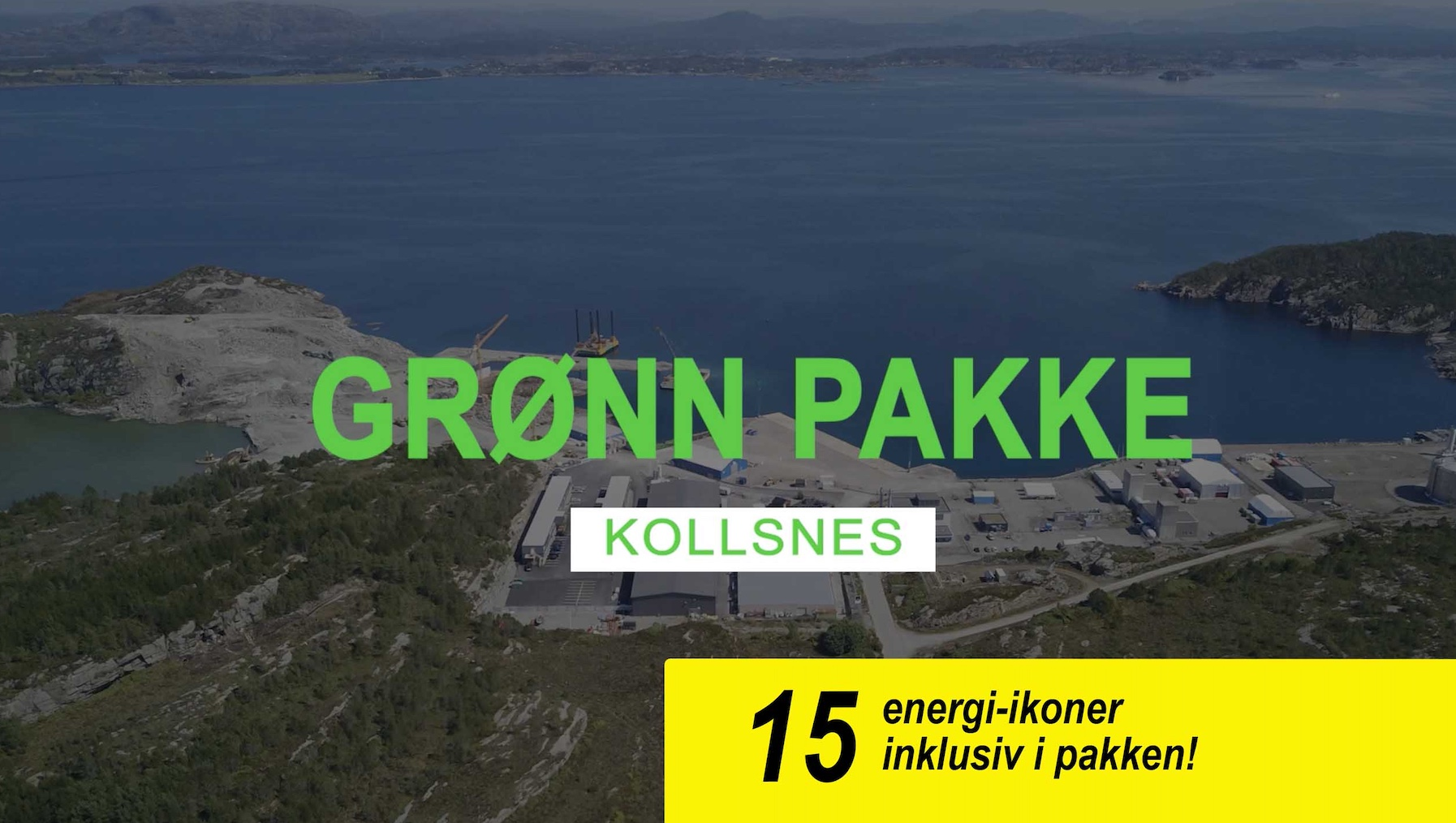 Studio Vestland - Grønn pakke Kollsnes